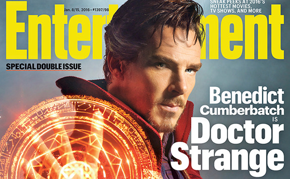 Benedict Cumberbatch as 'Doctor Strange'