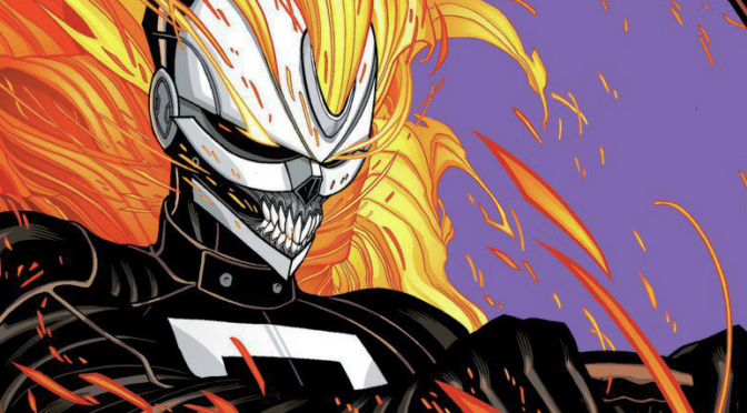 IMAGE OF THE DAY: Did 'Ghost Rider' Jump Out of 'BLEACH'?