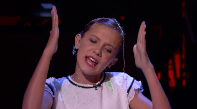 "'Stranger Things"" Millie Bobby Brown Raps in the Cutest Thing You'll See All Day…"