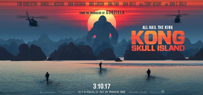 NEW TRAILER! 'KONG: SKULL ISLAND'!