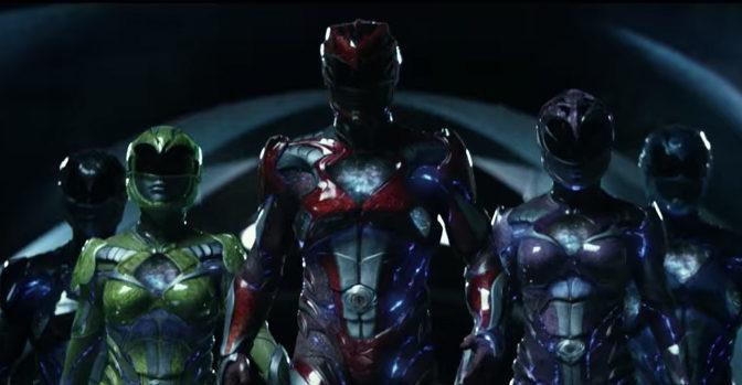New 'POWER RANGERS' Trailer…