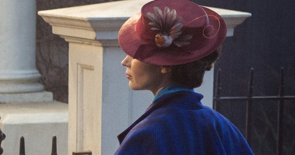IMAGE OF THE DAY: Emily Blunt as MARY POPPINS