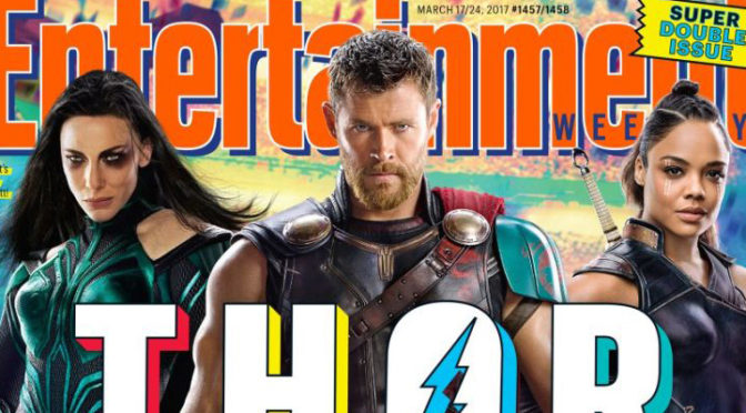 FIRST TEASER FOR 'THOR: RAGNAROK'!!!