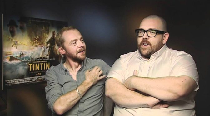SIMON PEGG & NICK FROST ARE REUNITING FOR A NEW PROJECT!!!