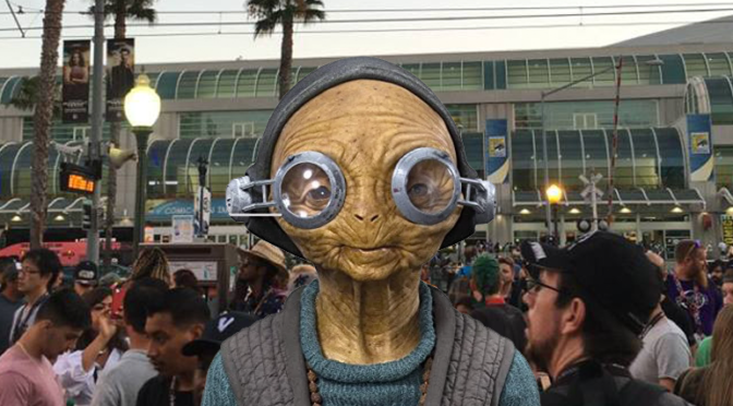 Did You See Maz at SDCC?