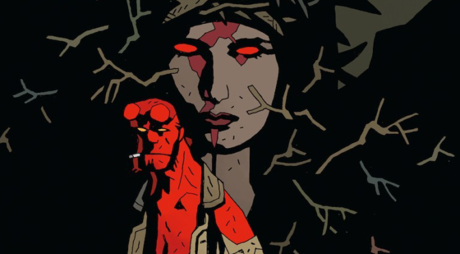 Looks like HELLBOY has Found His BLOOD QUEEN!