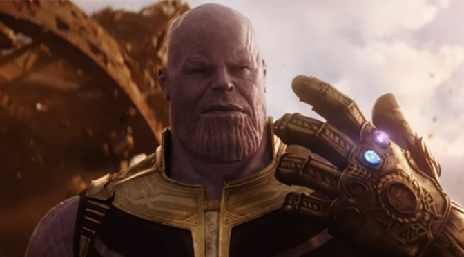 FIRST TRAILER FOR 'AVENGERS: INFINITY WAR'!