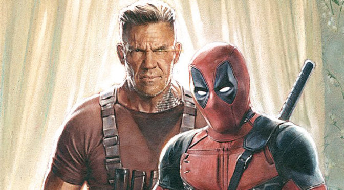Your First Poster for 'DEADPOOL 2'!