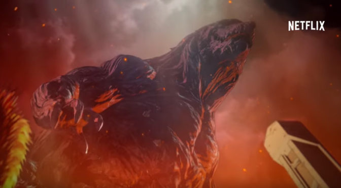 Trailer for 'GODZILLA: MONSTER PLANET'