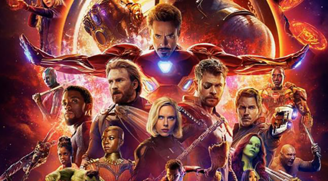 The 'AVENGERS: INFINITY WAR' TRAILER IS HERE!