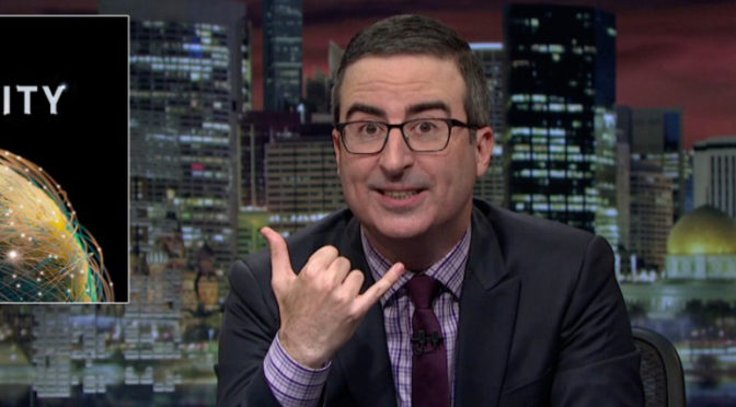 How Can You Not Love John Oliver?