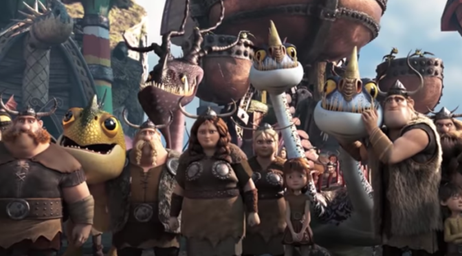 TRAILER: 'HOW TO TRAIN YOUR DRAGON: THE HIDDEN WORLD'