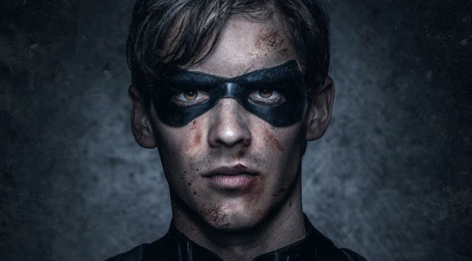 Full Suit Shot of Robin for 'TITANS'