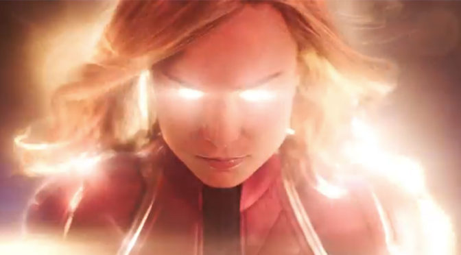 GAH! 'CAPTAIN MARVEL' TRAILER IS HERE!!!