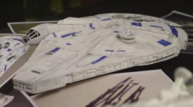 Creating Lando's Falcon…